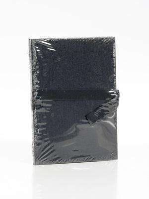 album leporello 10x15/12 fekete