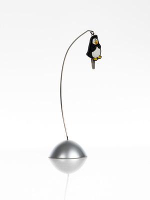 fényképtartó csipesz, pingvin